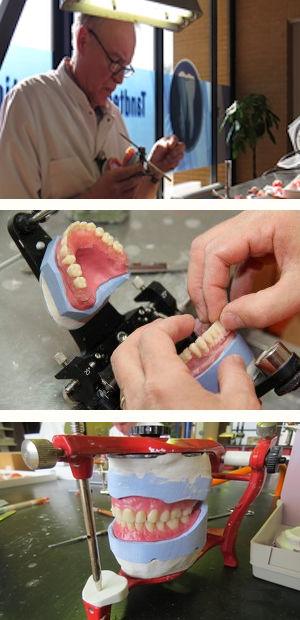 Werkzaamheden tandprotheticus